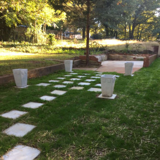 Lawn maintenance in Greenville, SC