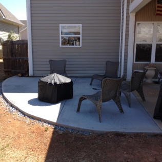 Patio in Greenville, SC